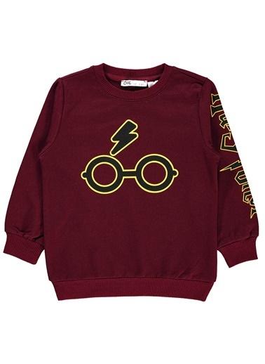 Harry Potter Erkek Çocuk Sweatshirt  Bordo